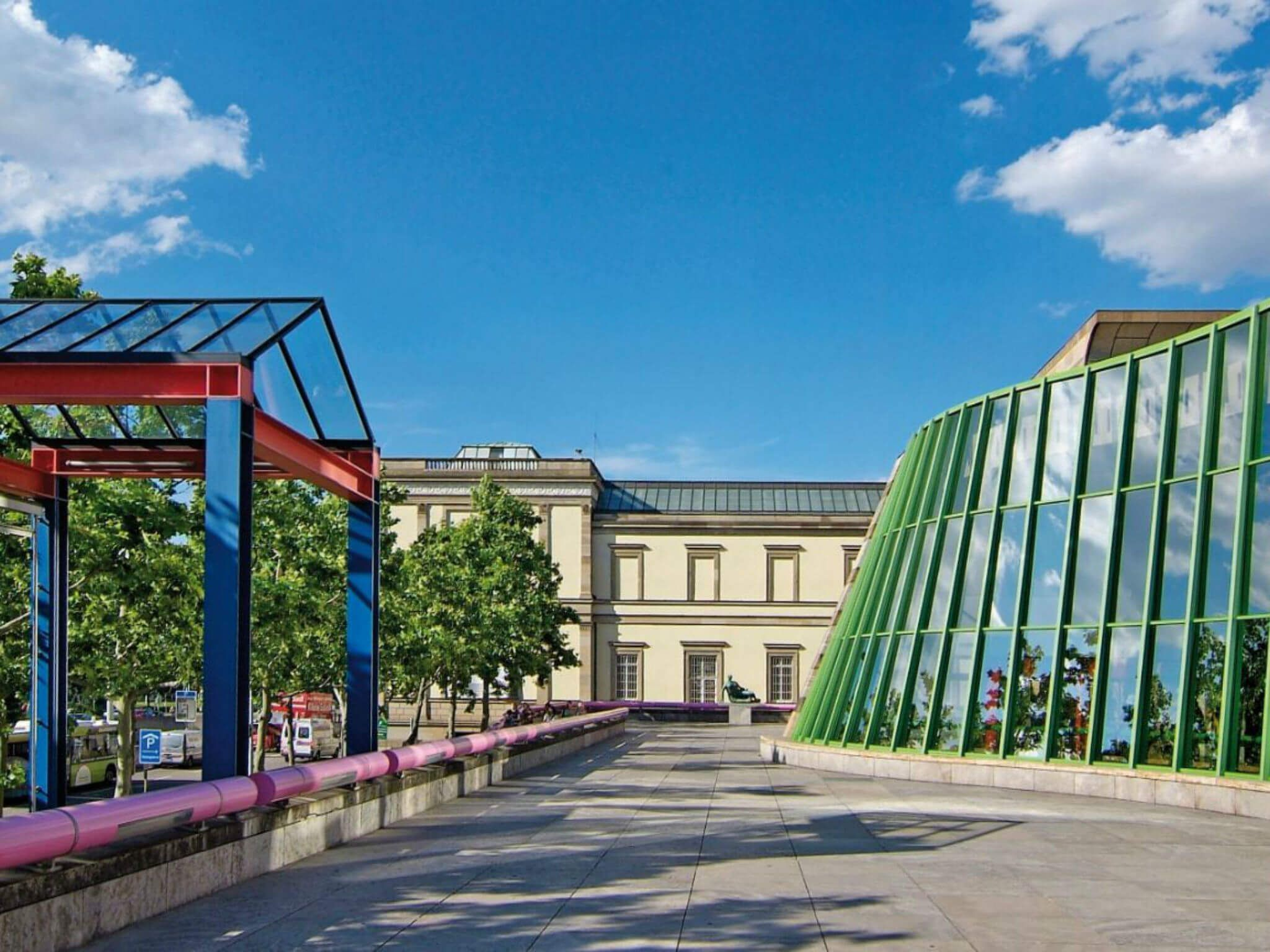 Sightseeing in Stuttgart Staatsgalerie