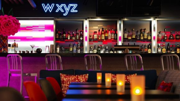 W XYZ Bar in Stuttgart | Aloft Hotel